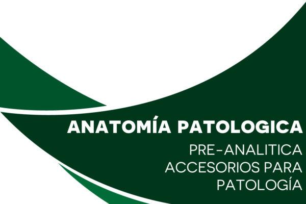 Accesorios para patología