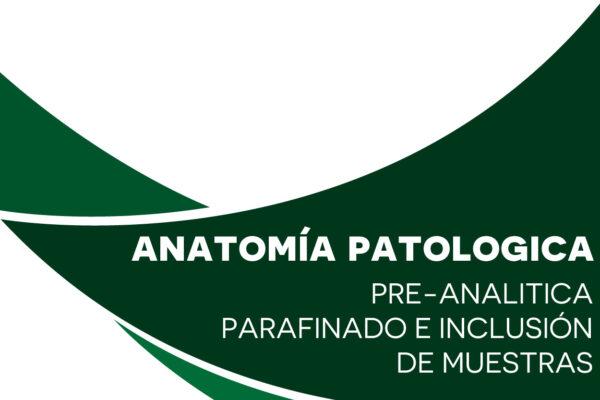 Parafinado e inclusión de muestras